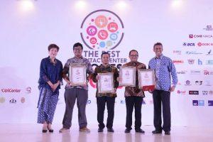 Kembangkan Contact Center PGN Raih 5 Penghargaan Diajang The Best Contact Center Indonesia