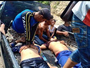 Dua warga Pesawaran tewas Terseret arus laut Pantai Karang Bebai Tengor, Kecamatan Cukuh Balak Kabupaten Tanggamus