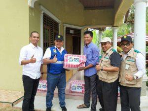 PLN UID Lampung Beri bantuan kepada korban banjir Tanggamus