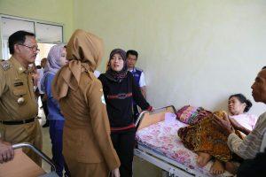 Pastikan Pelayanan Kesehatan Berjalan Baik, Wagub Chusnunia Kunjungi RSUD KH. Muhammad Thohir di Pesisir Barat