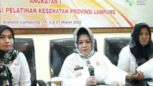 Dinkes Lampung sudah melakukan Tracking kepada orang yang memiliki Kontak dengan Pasien