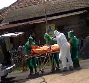 Sepulang Dari Tangerang Banten,  warga Canggung mengalami Panas Tinggi lalu meninggal Dunia