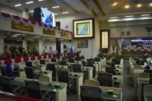 DPRD Lampung Gelar Rapat Paripurna Hut RI ke-75, Dengarkan Pidato Presiden Jokowi