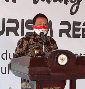 Lampung Tourism Reborn : Gubernur Arinal Sosialisasikan Kebijakan Ekonomi dan Pariwisata Dalam Tatanan Baru Produktif dan Aman Covid-19.