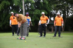 Memasyarakatkan Olahraga Golf, Gubernur Arinal Apresiasi BRI atas Terselenggaranya Golf Gathering Bank BRI danTNI/Polri
