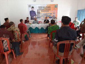 Soni Setiawan melangsungkan kegiatan Sosialisasi Peraturan Daerah (Sosperda) Nomor 9 Tahun 2016