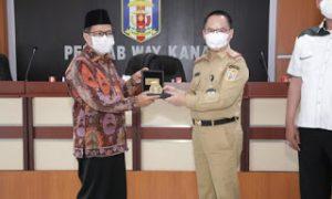 Anggota DPRD Lampung Davil V Lakukan Kunjungan Reses di Sambut Plh Bupati Way Kanan Saipul