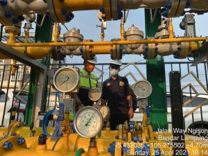 Dalam rangka pengawasan pendistribusian dan pemanfaatan gas bumi BPH Migas Kunjungi PT PGN Lampung