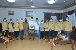 Anggota DPRD Lampung Dapil Vll Silaturahmi Ke Bupati Lampung Tengah.