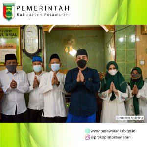 Bupati Dendi Bersama Baznas Pesawaran Serahkan Bantuan dan Santunan di Dua Kecamatan