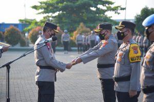 78 personel Polda Lampung mendapatkan reward, 1 personel PTDH