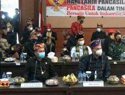 Wakil Bupati Lampung Selatan, mengikuti Upacara Peringatan Hari Lahir Pancasila melaluizoom meeting dengan Presiden Joko Widodo