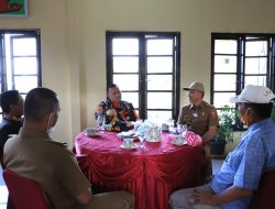 Diskom Lampung barat sambut lawatan Dang Ike Edwin