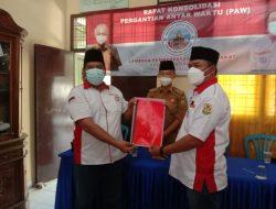 Ketua DPC LPM Kecamatan Panjang Kota Bandarlampung Herry Prasetyo Gunawan membuka Rapat Konsolidasi Pergantian Antar Waktu