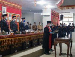 Waris Basuki, Resmi Jabat Wakil DPRD Lampung Selatan sisa masa jabatan 2019-2024.
