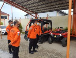 Lampung masuk dalam Ring Of Fire Deputi Sarpras & Siskom Basarnas Tinjau Kesiapan KN Basudewa dan Alat Utama SAR Lampung
