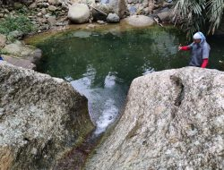 Wisata tersembunyi, Kolam alami Kedung Alip Girimulyo Pesawaran