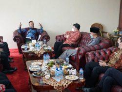 Perkuat Koordinasi Anggota Ombudsman RI dan Kaper Ombudsman Provinsi Lampung Kunjungi Pemkab Lampung Selatan