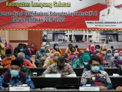 Verifikasi Lapangan Hybrid Kabupaten Layak Anak Nanang Harap Predikat Lampung Selatan Meningkat