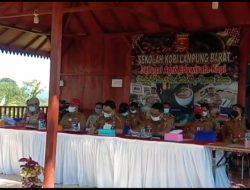 Bahas Penanganan Covid-19 PPKM Level 3 Pemkab Lambar di Kampung Kopi