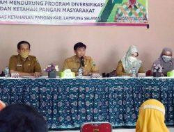 Pastikan Ketersediaan Pangan, DKP Lampung Selatan Gelar Pertemuan Teknis dengan UPT Pertanian dan PPL