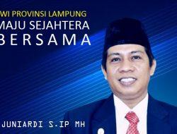Juniardi Mantap Calonkan diri Sebagai Ketua PWI Provinsi Lampung