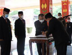 Wakil Bupati Lampung Barat Mengambil Sumpah Jabatan