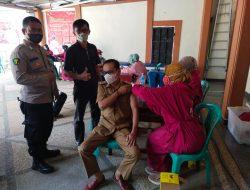 Heri Gunawan, S.T Fasilitasi Gerai Vaksinasi Presisi Bersama Polres Lampung Barat.