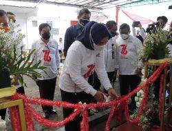 Ibu Riana Sari Arinal Resmikan Gerai Donor Darah dan Siger Donor Darah di Markas PMI Provinsi Lampung