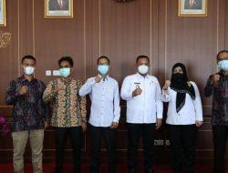 Audiensi dengan Bupati, Bawaslu Lampung Selatan Sosialiaskan Persiapan Tahapan Pilkada dan Pemilu di 2022