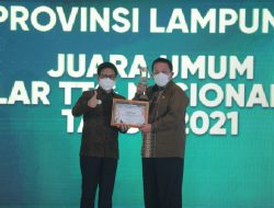 Lampung Juara Umum Teknologi Tepat Guna Nasional, Mendes PDT Serahkan Langsung Penghargaan kepada Gubernur Arinal Djunaidi