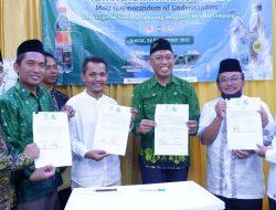 Pergunu lakukan Kerjasama dengan CV. Anugerah Semesta Lampung Distributor air DEmineral berOKSIGEN NANOXY,