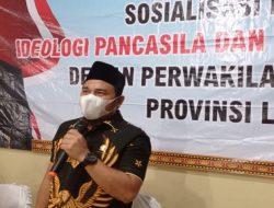 Eks Direktur LBH Bandar Lampung Dedy Mawardi Meninggal Ketua Komisi II DPRD Lampung Wahrul Fauzi Silalahi ucapkan Dukacita Mendalam