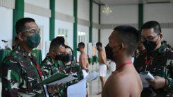 Danrem 043/Gatam Pimpin Sidang Parade Calon Tamtama  PK TNI AD Gel II Ta 2021 Subpanda Lampung.