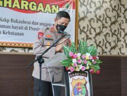 Di Nilai Aktif Jaga Lingkungan Hidup, KLHK-RI beri Penghargaan kepada Kapolda Lampung, Kapolres Lamsel dan KSKP Bakauheni